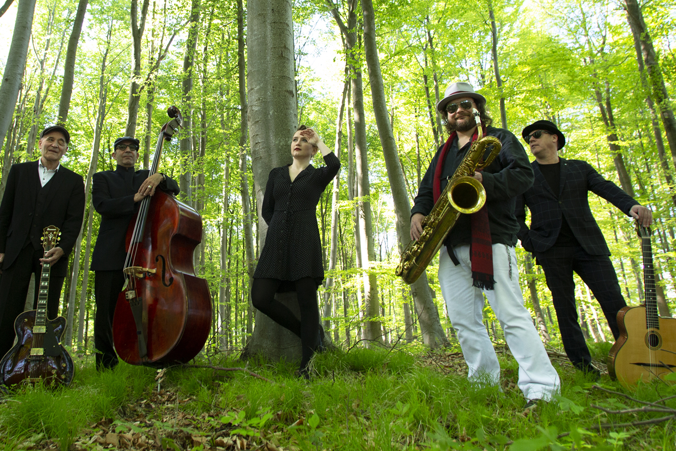 Band SWING DE PARIS, Hot Jazz, Gypsy Jazz,